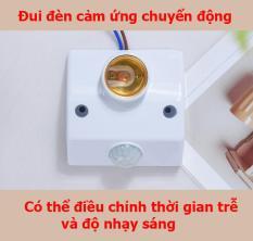 Đui đèn cảm ứng chuyển động-đui đèn cảm biến chuyển động-đui đèn cảm biến hồng ngoại