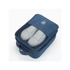 Túi đựng giày du lịch 4 ngăn đa chức năng, chống thấm nước, có quai cài vali, kích thước 30x20x13cm. Túi đựng đồ đa năng tiện lợi.