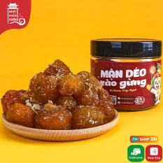Mận dẻo xào gừng Nhất Phẩm Đường 200g vị chua cay ngọt đồ ăn vặt ô mai Hà Nội