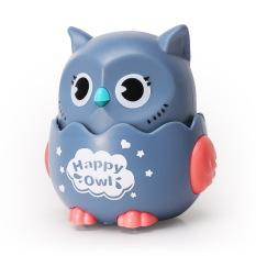 Đồ chơi cho bé chim cú mèo đáng yêu dễ thương, chạy cót vui nhộn, thú vị nhựa an toàn, nhấn là chạy