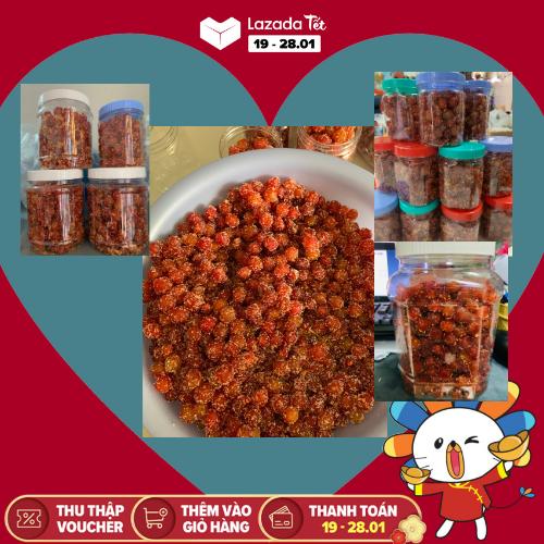 Hủ 250g chùm ruột lắc muối ớt Tây Ninh – đồ ăn vặt