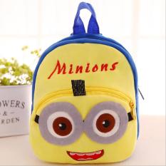 [HCM]Balo vải nhung cho bé đi học mầm non đựng đồ hằng ngày