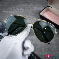[Xả lỗ do dịch Corona] Kính râm unisex gọng dẹp Wendy K200 (Gold) – Smart247