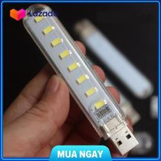 Đèn led 8 bóng siêu sáng cắm cổng usb, cam kết hàng đúng mô tả, chất lượng đảm bảo an toàn đến sức khỏe người sử dụng