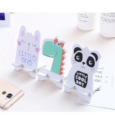 Giá đỡ điện thoại hoạt hình dễ thương Chất liệu ván ép chất lượng cao nhiều hình để lựa chọn