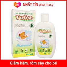Sữa tắm gội trẻ em thảo dược Tulise 100ml Kháng khuẩn, chống hăm, ngừa rôm sảy – NHẤT TÍN PHARMACY