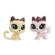 Đồ chơi Littlest Pet Shop Bộ đôi Mèo Quyến Rũ E1073/E0399