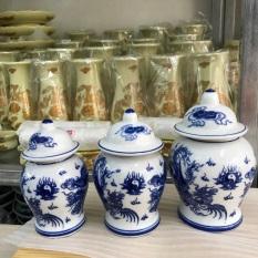 Choé muối gạo dùng trong bàn thờ