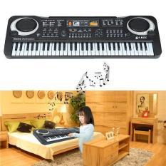 Đàn piano điện tử 61 phím kèm micro cho bé ( tặng 2 món quà ngẩu nhiên )