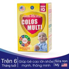 Mama Sữa Non Colos Multi Grow IQ giúp trẻ cao lớn – khỏe mạnh – phát triển tối đa trí thông minh của trẻ