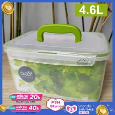 Hộp nhựa đa năng bảo quản thực phẩm Lock&Lock có quai xách dung tích 4.6L ZZF150
