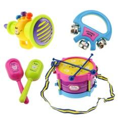 Bộ 5 nhạc cụ đồ chơi dễ thương cho bé