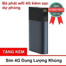 (Cực Rẻ) Bộ Phát Wifi 4G ZMI MF885 Tốc Độ Cao Kiêm Sạc Dự Phòng