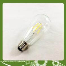 Bóng đèn trang trí led giả dây tóc Edison ST64 Greennetworks (ánh sáng vàng)