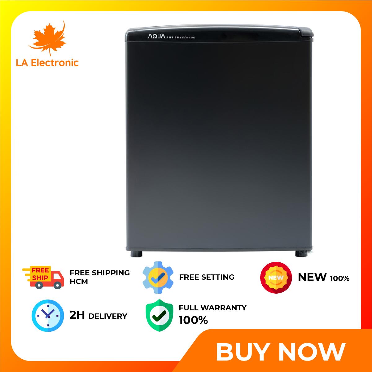 [GIAO HÀNG 2 – 15 NGÀY TRỄ NHẤT 15.09] Tủ Lạnh AQUA 50 Lít AQR AQR-D59FA(BS) – Miễn phí vận chuyển HCM