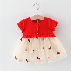Váy ren mềm Công chúa ngọt ngào xinh xắn cho bé yêu V24