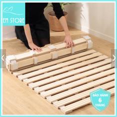 Giường cuộn 1m gỗ Thông nhập khẩu – Mùi thơm tự nhiên