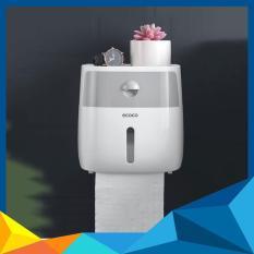 Hộp đựng giấy vệ sinh 2 ngăn ECOCO 9233