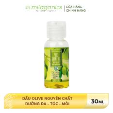 Dầu Olive Nguyên Chất Dưỡng Da – Tóc – Môi MILAGANICS 30ml-100ml