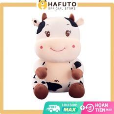 Gấu bông bò sữa Hafuto dạng ngồi size 37cm siêu xinh cho bé