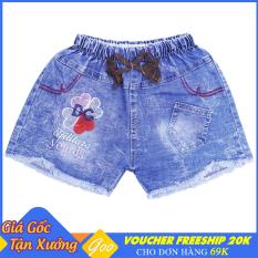 Quần short Jean cho bé gái từ 4-31kg – Chất Jean mềm mại thoáng mát [ ẢNH THẬT 100% DO SHOP CHỤP ]