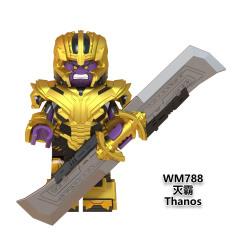 Lego Minifigures Marvel DC Nhân Vật Thanos Phiên Bản Mới Siêu Ngầu WM788