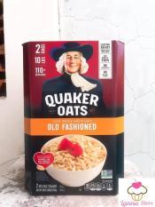 Yến Mạch Quaker Oats (cán dẹp) hộp 4,52Kg – Nhập Khẩu Từ Mỹ
