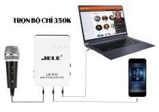 Thiết bị thu âm Sound card LK-P33
