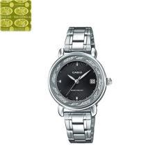 Đồng hồ nữ dây thép không gỉ Casio Anh Khuê LTP-E120D-1ADF