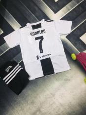 Bộ quần áo bóng đá Ngôi sao Ronaldo phiên bản trẻ em