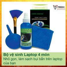 Bộ dụng cụ vệ sinh máy tính, laptop 4 món