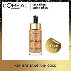 Phiên bản giới hạn Starlight Collection – Kem bắt sáng dạng lỏng Highlighting 01 Drops Warm Gold 15ml