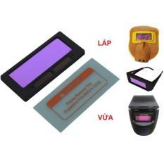 Mắt kính hàn cảm biến điện tử thay thế cho kính hàn điện, mặt nạ hàn điện tử, mặt nạ hàn da điện tử PRT.WM