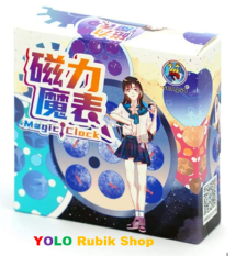 Rubik Đồng Hồ ShengShou Magnetic Clock Puzzle Sengso Clock Biến Thể – Đồ chơi Giải Trí, Giải Tỏa Căng Thẳng Stress
