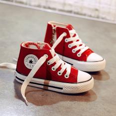 [Sales Khủng] Giày trẻ em cho bé trai, bé gái giày thể thao trẻ em đế mềm Chất Vải Canvas Chống Thấm Nước Ôm Chân