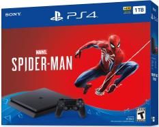 Máy Chơi Game PlayStation 4 Slim 1TB Console – Marvel's Spider-Man Bundle – Hàng chính hãng thị trường USA