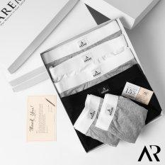 Quần lót nam DÁNG SỊP ĐÙI BOXER cotton co giãn 4 chiều AREMI 2021