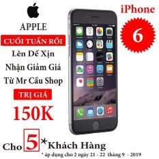 Điện thoại Apple iPhone 6 – Bản quốc tế Full box Full phụ kiện – Bảo hành 6 tháng – Đổi trả miễn phí – Yên tâm mua sắm với Mr Cầu ( Điện thoại giá rẻ, điện thoại smartphone, Điện thoại thông minh)