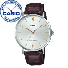 Đồng hồ nam dây da Casio Standard Anh Khuê MTP-VT01L-7B2UDF