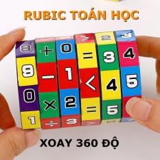 Đồ chơi trẻ em rubic toán học, phát triển khả năng tính toán, kích thích tư duy trí não phát triển cho bé từ 4 đến 8 tuổi