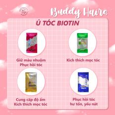 Ủ tóc Biotin giúp phục hồi tóc hư tổn, kích thích mọc tóc, cung cấp độ ẩm dưỡng tóc của Buddyhairs