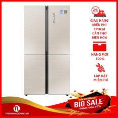 Tủ lạnh Aqua Inverter 516 lít AQR-IG525AM GG