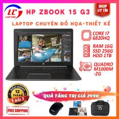 Laptop Đồ Họa Thiết Kế Chuyên Nghiệp HP Zbook 15 G3, i7-6820HQ, VGA Nvidia Quadro M1000M, Laptop Giá Rẻ, Laptop Chính Hãng, LaptopLC298