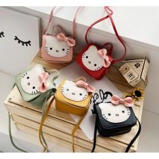 Túi xách đeo chéo Hello Kitty dễ thương phong cách Hàn Quốc