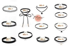 [M340-19] Vòng đeo cổ Choker Thời Trang Cá tính
