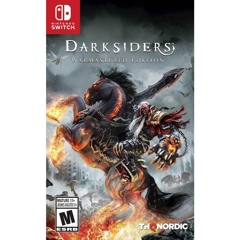 Đĩa game Nintendo Switch : Darksiders Warmastered Edition