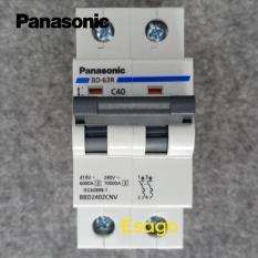 Cầu dao tự động bảo vệ quá tải & ngắn mạch PANASONIC 40A loại 2 cực – BBD2402CNV40A