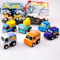 Bộ 6 chiếc ô tô đồ chơi chạy bằng dây cót, đồ chơi cho bé, đồ chơi trong nhà, đồ chơi tiện ích, (MS02), Tuancua