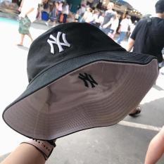 MŨ bucket 2 mặt NY, nón bucket 2 mặt thêu chữ NY thời trang cá tính