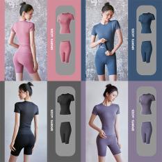 Bộ đồ tập Gym – Set quần lửng + áo tay ngắn